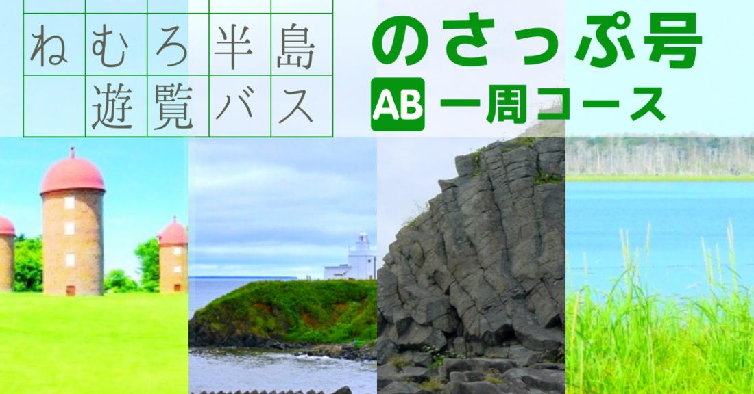 定期観光バス『のさっぷ号』AB(一周)コース