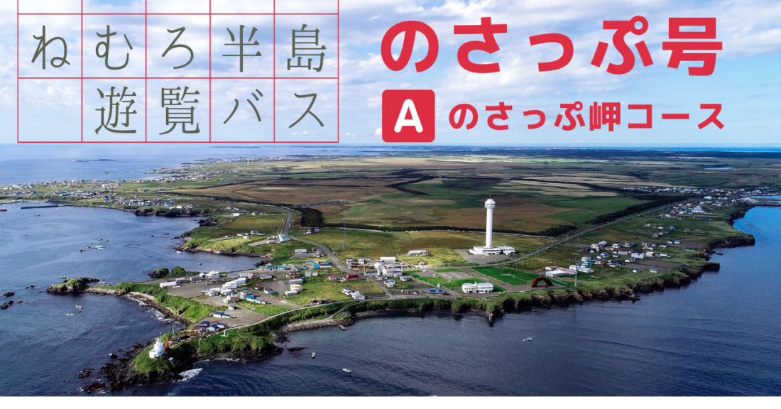 定期観光バス『のさっぷ号』 A(のさっぷ岬)コース